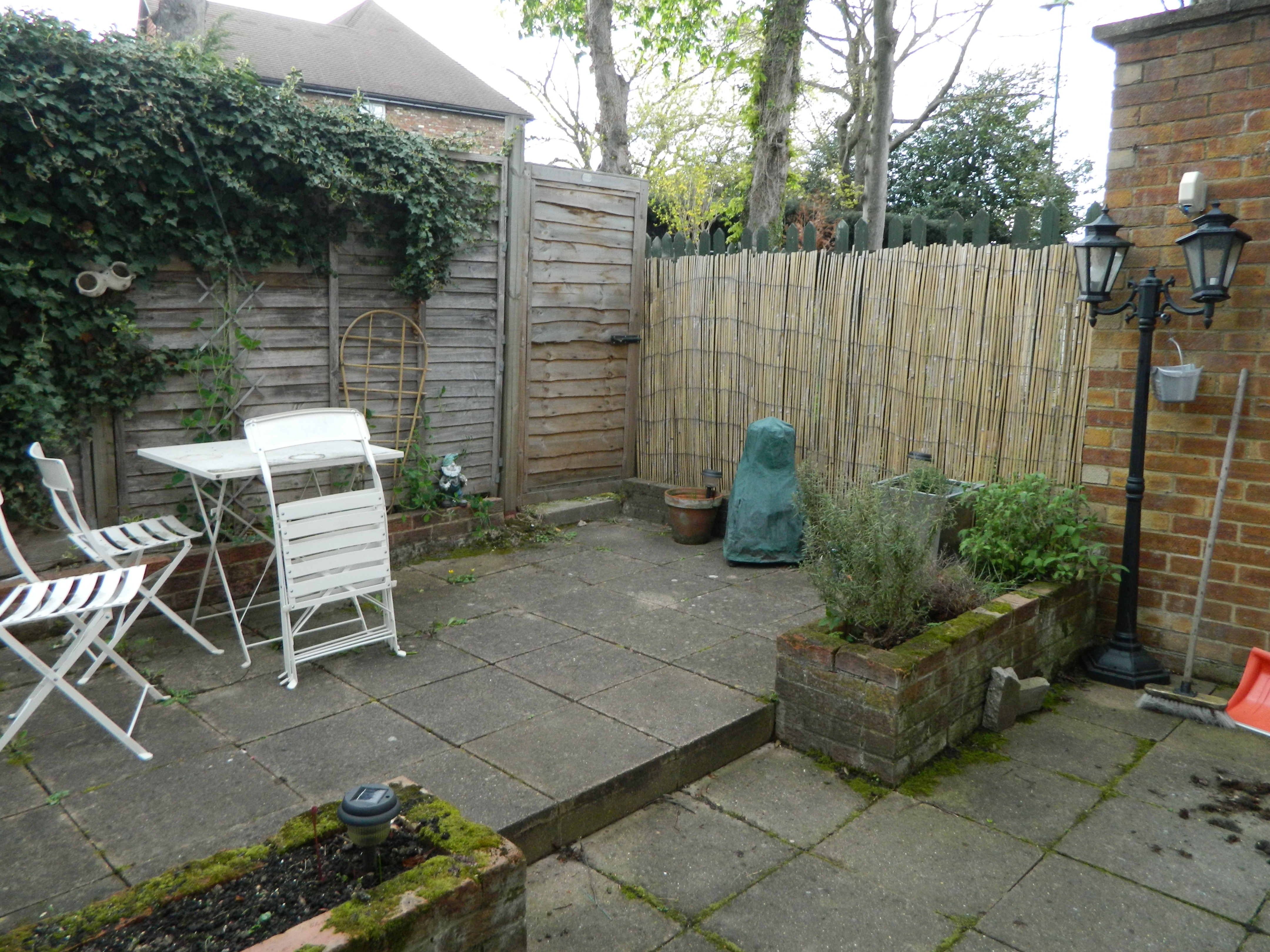 My tiny garden makeover part 1 the utter blog for Garden makeover on a budget