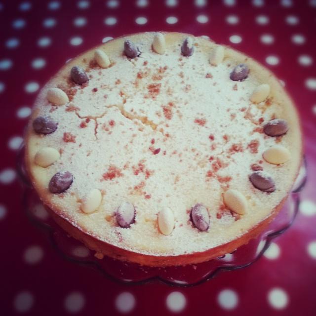 White chocolate cheesecake. Recipe here!