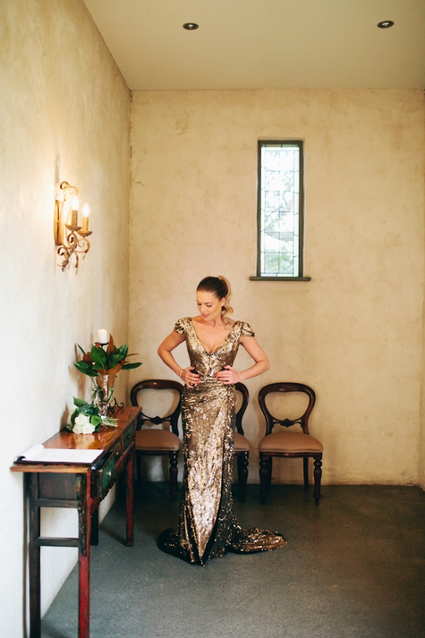 Stunning bride alert! Image by Love Katie + Sarah via Ruffled...