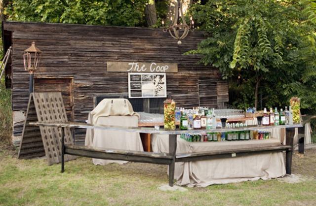 A Well-Stocked Wedding Bar   The Utter Blog