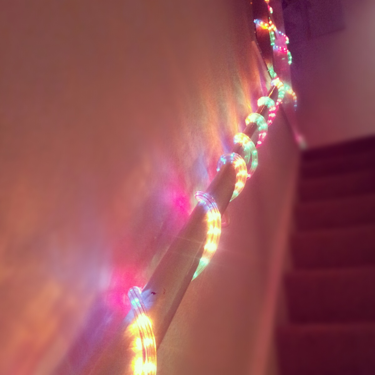 A party isn't complete without disco lights.