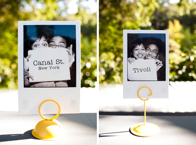 Unique table number ideas the utter blog image via carolina weddings junglespirit Image collections