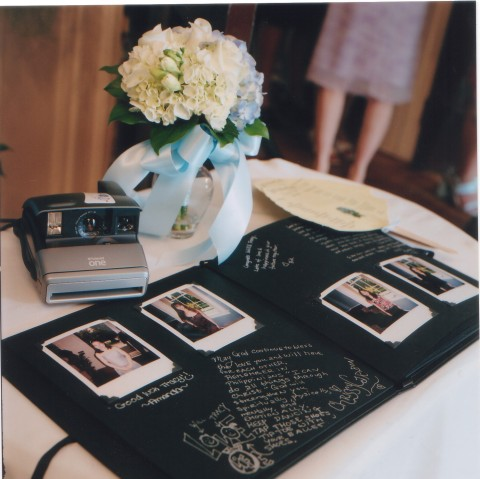 Polaroid Wedding Guest Book.The Great Guestbook Debate The Utter Blog
