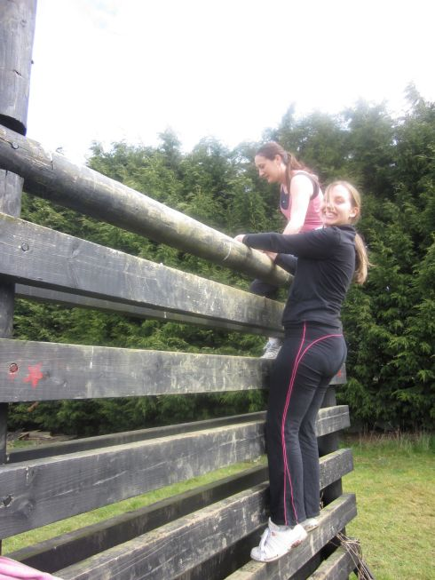 Scaling mountainous wooden peaks covered in bird poo!