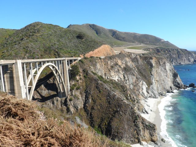 The beautiful Bixby Bridge.