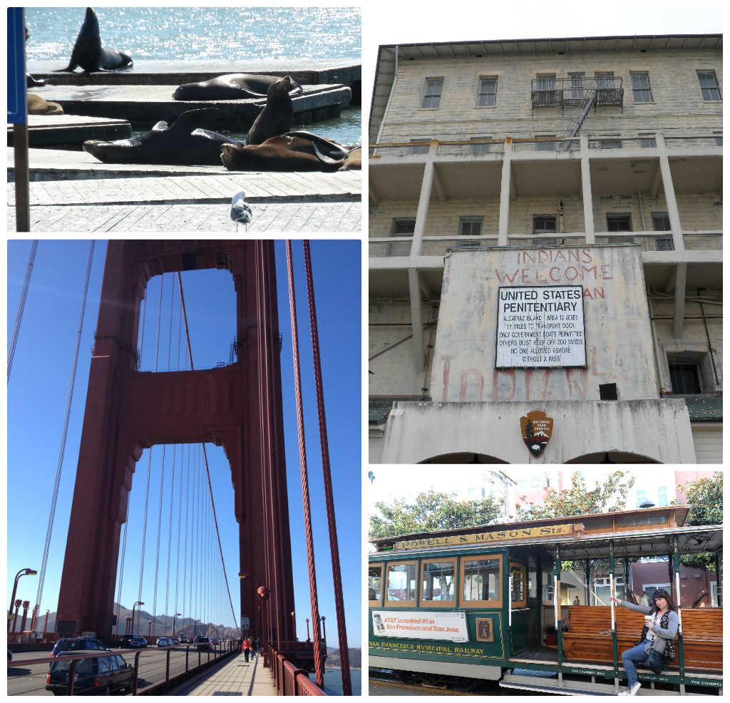 Just some of our San Francisco highlights