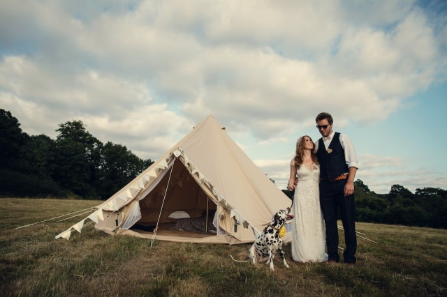 Charlotte & John's Wondrous Wedding. Image by Assassynation.
