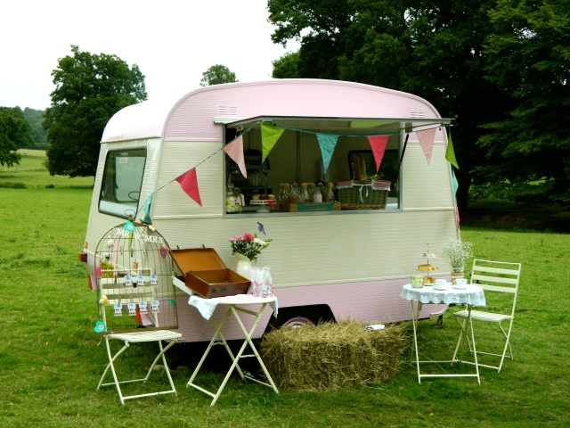 The Vintage Dotty caravan