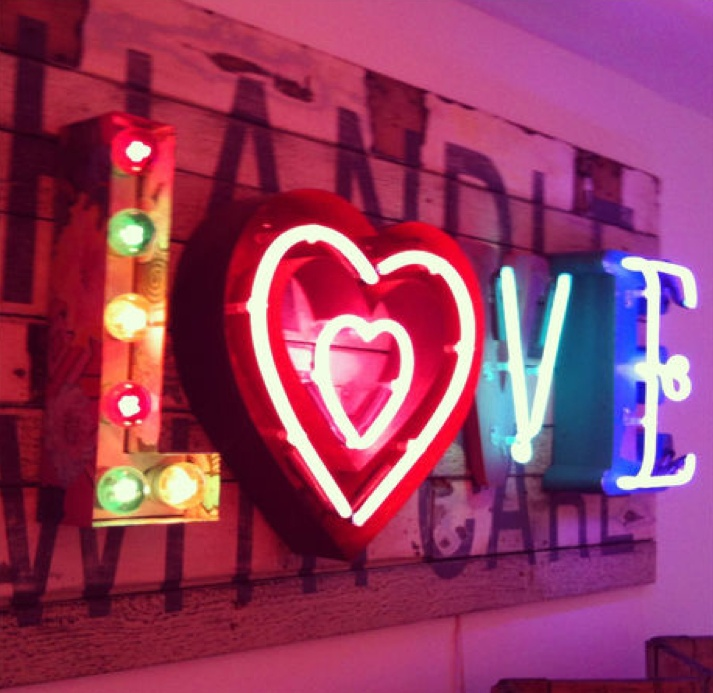 In 2014 there'll be love. And neon. (No really.)