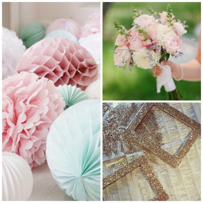 wedding colour collage 3