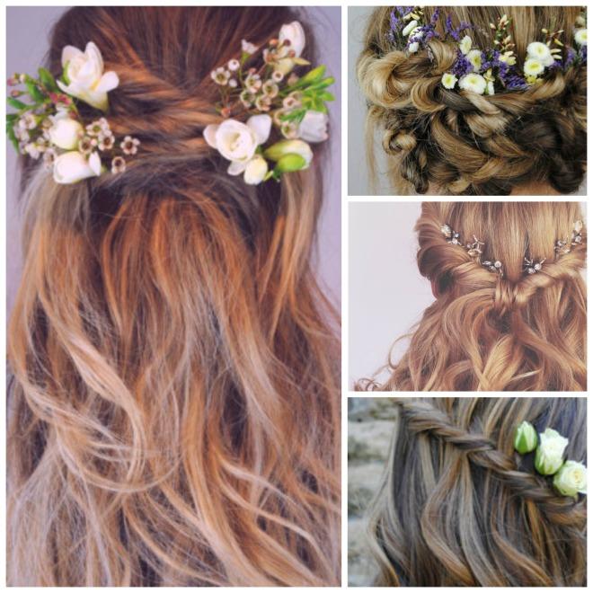 the wedding hair company looks