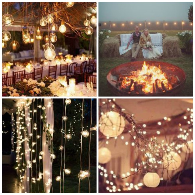 wedding lighting collage 2